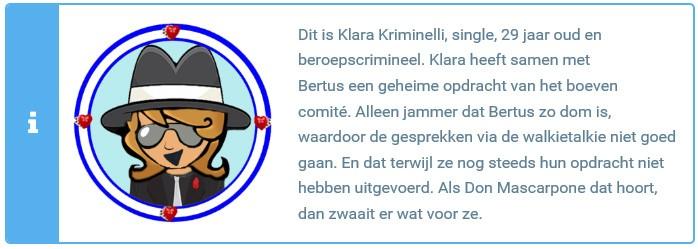Klara slider