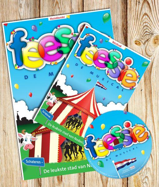 Afbeelding van de producten van Feessie - de musical