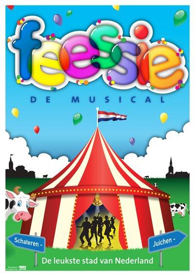 Feessie poster